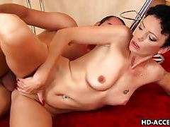 Mature lady fucked hard from behind tubes