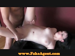 FakeAgent Creampie for cutie pie tubes
