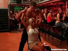 Male dancers turn on these lovely ladies tubes