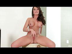 Destiny Dixon fingers her hot pussy solo tubes