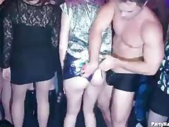 Night club scene turns wild as ladies get frisky tubes