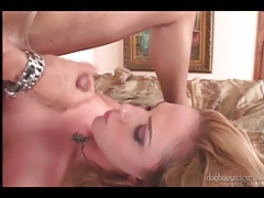 Pierced tongue blowjob is hot and so is the fucking tubes