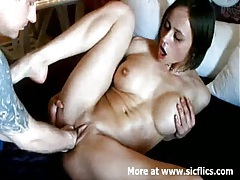 Double fisting my hot wifes loose pussy till she orgasm tubes