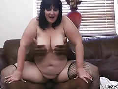 Black guy with big cock plows BBW tubes