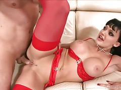 Aletta Ocean looks steamy fucking in lingerie tubes