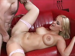His lady is wet from licking and ready to fuck tubes