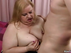 Fat mom is a horny cocksucker for him tubes