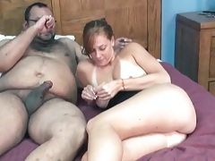 Fat guy fucks a cute girl with big tits tubes