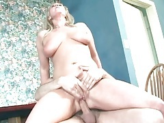 Titjob from the busty babe readies him for sex tubes