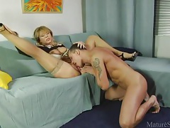 Milf teases sensually and gets fucked tubes