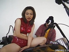 Asian with big tits solo masturbation tube