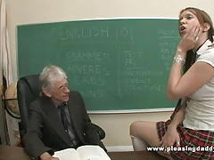 Young Slut Will Do Anything To Pass The Class tubes