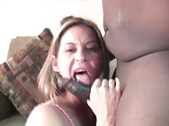 Cunt licked and big titty slut sucks black cock tubes