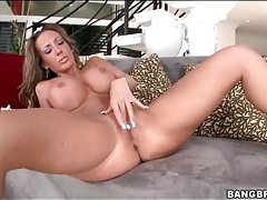 Hot fake tits milf sexy solo striptease tubes