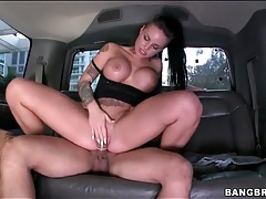 Christy Mack hardcore sex in a car tubes