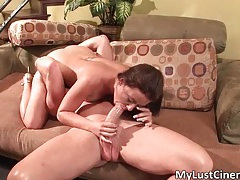 Hot nasty horny brunette sexy body babe gets her pussy fingered and fucked hard tubes