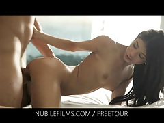 Veronica Rodriguez savors deep pussy penetration tubes