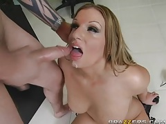 Military officer fucks a beautiful babe in her cunt tubes