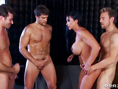 Muscular pornstar Jewels Jade gangbanged tubes