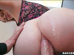 Her big ass is perfect during an anal sex video tubes