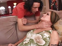 Babe opens wide for a BJ and hard anal sex tubes