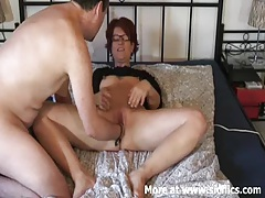 Fisting my wifes cunt as she masturbates tubes