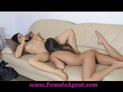 FemaleAgent Do you like how I taste tubes