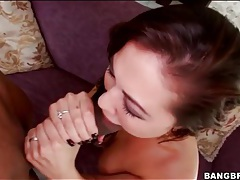 Monstrous black bone fucks a slutty young girl tubes