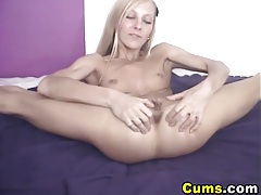 Cute Teen Blonde Playing Her Clit HD tubes