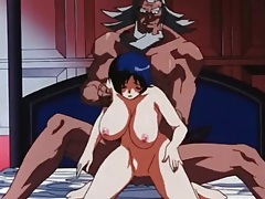 Monstrous man with huge cock fucks hentai girl tube