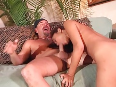 She completes deepthroat BJ and has hot sex tubes
