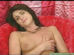 Pretty girl with small tits fingers solo tubes