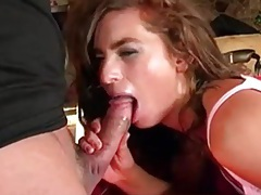 Naomi Russell thrashed in cunt from behind tubes