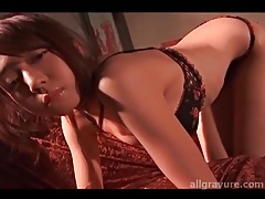 Heels and underwear are sexy on young lady tubes