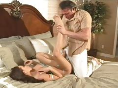 Flexible fit chick with fake tits anal sex tubes