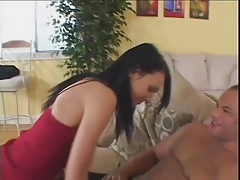 Hot skinny chick does interracial double penetration tubes