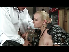 Sex in the restaurant with big ass slut on him tubes