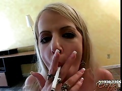 Big dick sucked and stroked by smoking girl tubes