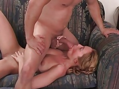 Girl rubs her cunt and has hardcore anal sex tubes