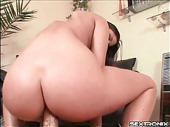 Big dick fucks her asshole in POV anal video tubes