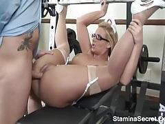 Super Big Tits Blonde Take Black Cock On Pink Pussy tubes