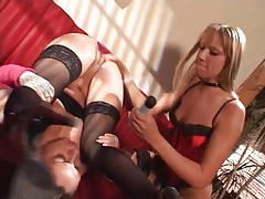 Dildo double penetration of submissive girl tubes