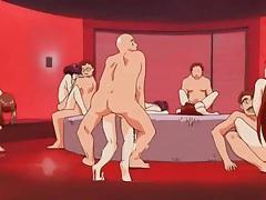 Arousing hentai lesbian nipple sucking fun tubes