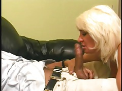 Curvy blonde with big tits pounded in her pussy tubes