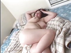 Cocksucking mature BBW fuck and facial tubes