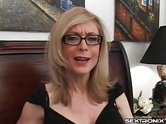 Naughty talk from nina hartley in glasses tubes