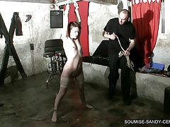 Tied bondage fuck bdsm slave soumise sandy libertine mure tubes