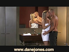 Danejones sex in the bath with blonde babe tubes