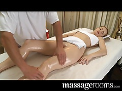 Massage rooms very sexy erotic massage ends in creampie tubes