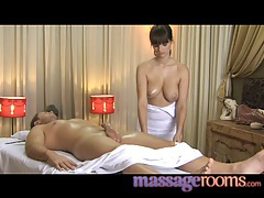 Massage rooms lovely rita's big tits and warm wet pussy tubes